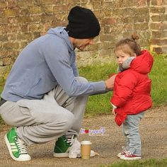 David Beckham & Harper
