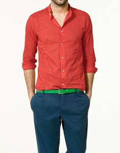 color blocking for men