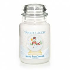 Snow Globe Collection's Sugary Sweet Snowfall is a winter wonder as fluffy marshmallows fall from a creamy vanilla sky.