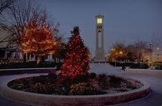 West Texas A&M University Gorgeous winter campus