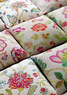 manuel canovas 'nikita' on cushions