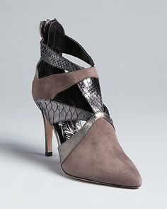 Alejandro Ingelmo Pointed Toe Bootie Pumps - Pyramid | Bloomingdale's