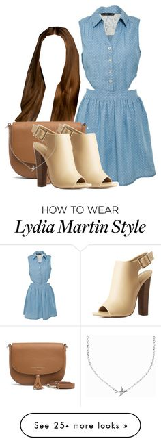 """""""Lydia Martin Inspired Outfit"""" by demiwitch-of-mischief on Polyvore featuring Miso, Tommy Hilfiger, Mark & Maddux and Minnie Grace"""