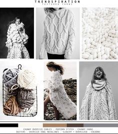 FASHION VIGNETTE: TRENDSPIRATION // AW 2015-16 . TEXTURED YARNS