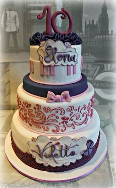 Cake Violetta - Cake by Sabrina Di Clemente