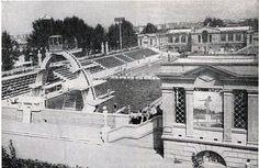 """Бассейн """"Динамо"""", 1964 год. Вода подогревалась и можно было купаться зимой, выныривая в бассейн прямо с раздевалки. Увы..."""