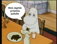 Vainmuumijutut Funny Facts, Funny Memes, Moomin, Finland, I Laughed, Favorite Quotes, Cool Pictures, Lol, Humor