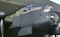 An Avro Lancaster of No 156 Squadron, at Warboys, Huntingdonshire, 10 February Lancaster Bomber, Fighter Jets, Aircraft, Sci Fi, Vintage, Diesel, February, Punk, Colour