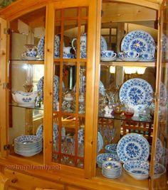 Cibulák – Blue Onion Porcelain.  My collection <3 <3 <3