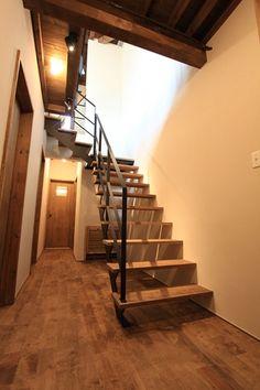 完成写真公開!スロウルのリノベーション「鉄階段とウッドデッキの家」 スロウル[SLOWL]札幌 の画像 リノベーションで北海道の豊かな暮らし
