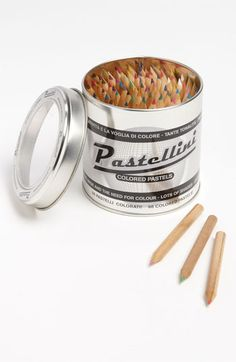 An assortment of ninety-eight colored pencils includes a vast range of hues for crafting your next masterpiece.