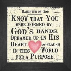I'm a child of the King--heir to the throne--with a purpose God planned in advance just for me.