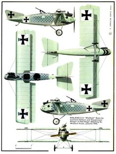 1914 - 1918 The Great War Roland CII:  Now I see, as Rickenbacker described, how the gunner could duck down into the airplane