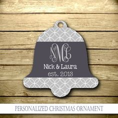 NewlyWed Personalized Christmas Ornament  by YourStyleStudio, $12.95