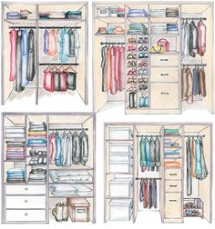 Bedroom Wardrobe Design Layout Master Closet Ideas For 2020 Ikea Wardrobe Closet, Wardrobe Organisation, Diy Wardrobe, Wardrobe Design, Closet Space, Closet Organization, Open Wardrobe, Capsule Wardrobe, Master Bedroom Closet