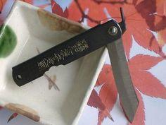 Higonokami 75mm Japanese Traditional Folding Knife Steel Pocket Black L Japan