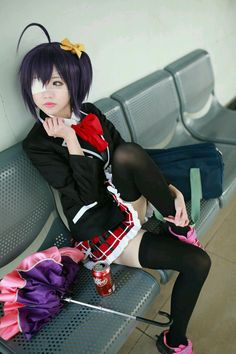 Takanashi Rikka - gasaiyono(我妻丶由乃) XiaoniaoyouLiuhua Cosplay Photo - Cure WorldCosplay
