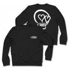f39d4810c9f 5SOS Black Skull Sweater Skull Logo