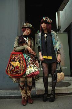 Dolly kei. Japanese street style