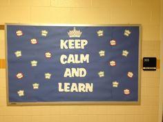 2013 welcome back bulletin board