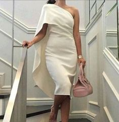 Awesome Mother of the Bride/Groom - 2017 Party Dresses - Sheath One Shoulder White and Lots of Other Colors Celebrity Bridal Dress Evening Arabic Dresses Prom Gowns Cocktail Dresses Online Corset Dresses From Promfantasy on Dhgate. Simple Cocktail Dress, Knee Length Cocktail Dress, Cocktail Party Outfit, Cocktail Wear, Cocktail Parties, Cocktail Dresses Online, Womens Cocktail Dresses, Elegant Dresses, Beautiful Dresses