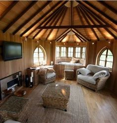 I would never want to leave my tree house