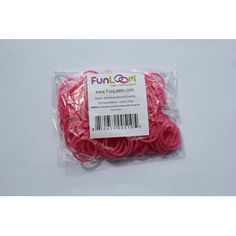 Sparkle Pink Silicone Bands by FunLoom | eBeanstalk
