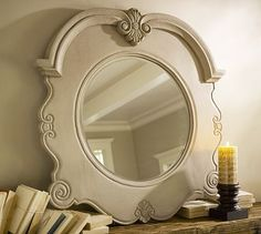 Beautifully detailed mirror.