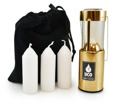 UCO Original Candle Lantern Value Pack with 3 Candles and Storage Bag Brass >>> Click on the image for additional details.