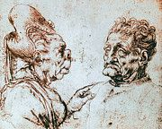 "New artwork for sale! - "" Leonardo Da Vinci - Caricature 2 by Leonardo da Vinci "" - http://ift.tt/2lcrtgC"