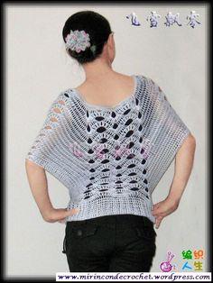 Blusas, ojala encuentre quien las haga viendo el diseno. They are beautiful blouses in this pin.