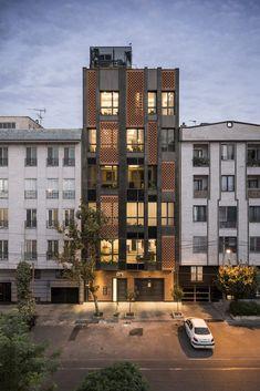 Arghavan Family Apartment Alidoost Partners Arch Building Facade Exterior