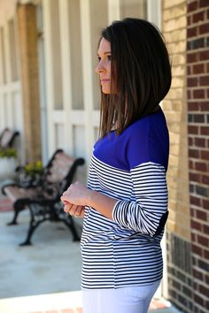 Love this. I have a thing for stripes!