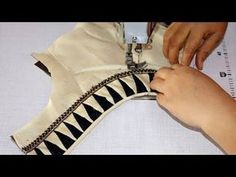 How to Cut and Stitch Blouse ki Back Design Dress Neck Designs, Blouse Designs, Hand Designs, Youtube, Collar, Youtubers, Youtube Movies