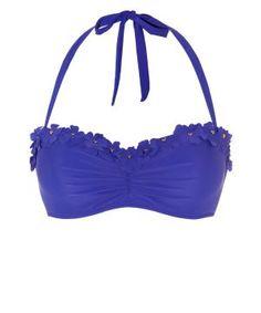 a52313067e Kelly Brooke bikini top. I love the flowers  ) Dark Purple Flowers