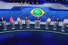 Assista o primeiro debate entre os candidatos à Presidência | #AécioNeves, #DilmaRoussef, #EduardoJorge, #Eleições2014, #LucianaGenro, #MarinaSilva, #PastorEveraldo, #RevoltaBrasil