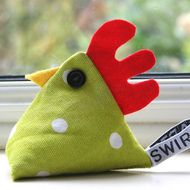 alice the chicken pin cushion
