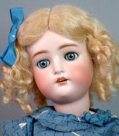 "*GORGEOUS BLUE-EYED* 22"" KAMMER & REINHARDT Antique German Doll SO PRETTY & RARE"