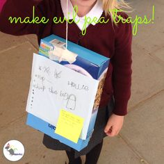 Can you make a trap to capture the Evil Pea? Super Hero Activities, Eyfs Activities, Eyfs Classroom, Superhero Classroom, Minibeasts Eyfs, School Reception, Primary Teaching, Teaching Ideas, Healthy Schools