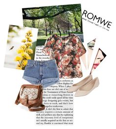 """romwe 1"" by b-maya ❤ liked on Polyvore featuring Avenue, Topshop and Mudd"
