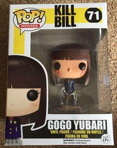 Pop! Funko Kill Bill Bloody Gogo Yubari Exclusive Vinyl Figure Rare