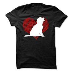 I Love My Golden Retriever on Red Heart Tee T Shirts, Hoodie Sweatshirts