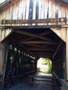Cilleyville Bog Bridge in Andover, NH