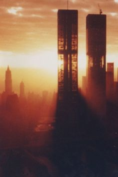 Construction of The Twin Towers - 1970