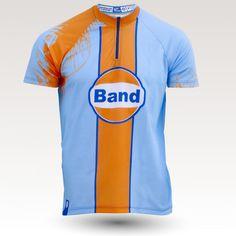 Maillot Le mans, maillot VTT rando original à manches courtes sublimé avec zip et poche, maillot fibre technique, coupe ultra confort VTT