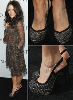 hi all! this time allfashionmode will share information about Abigal Spencer attended the Valentino Rodeo Drive store opening in  Beverly Hills , California primary on March 27, 2012.