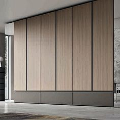 Amazing white 'Simil' Wardrobe by Orme- Amazing white 'Simil' Wardrobe by Orme Amazing white 'Simil' Wardrobe by Orme - Wooden Wardrobe Closet, Wardrobe Design Bedroom, Wardrobe Cabinets, Bedroom Bed Design, Bedroom Wardrobe, Home Room Design, Home Interior Design, Wardrobe Door Designs, Closet Designs