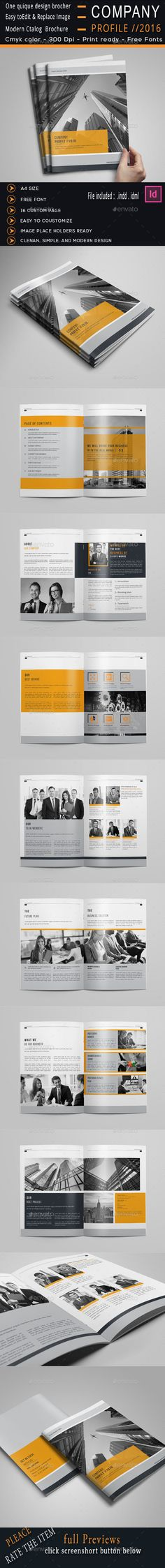 The Company Profile Templates, Company profile and The ou0027jays - company profile free template