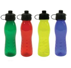 The Elite Sports Bottle featuring polycarbonate material, countoured shaped body with easy flow sipper and large space for your printed promotional branding, message or logo customised onto the promotional product.
