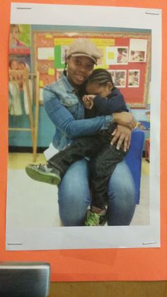 Joseph and I at daycare.